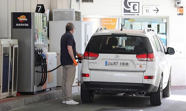 El consumo de combustibles